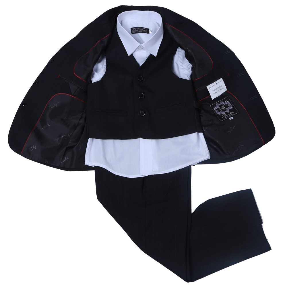Nimble Black suit for boy Regular Boy Formal style Suit Blazers boys suits for weddings jacket