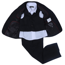 Nimble Black suit for boy Regular Boy Formal style Suit Blazers boys suits for weddings jacket for boy costume garcon