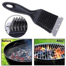 1 шт., щетка для чистки Гриля и барбекю из нержавеющей стали, инструмент для приготовления барбекю, полезный очиститель, паровые аксессуары для дома и барбекю