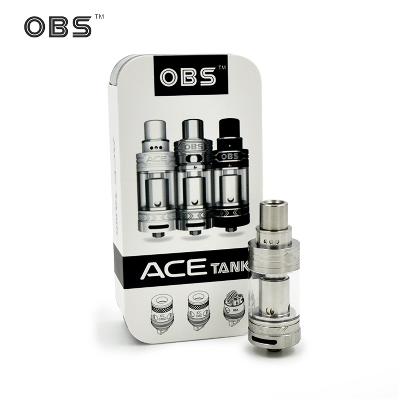 stock Original OBS ACE Tank 4 5ml with Ceramic 0 85 Coil or With RBA Coil