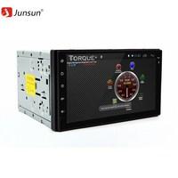 JUNSUN 1080P HD Car Bluetooth 2DIN Radio GPS Android 6 0 1G 16G Head Unit Player