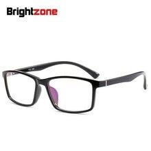 2018 جديد نمط قسط المضادة للانزلاق TR90 الدفاع الإشعاع الكمبيوتر مكافحة الأزرق مرشح ضوء الألعاب العين الراحة واضح نظارات إطار