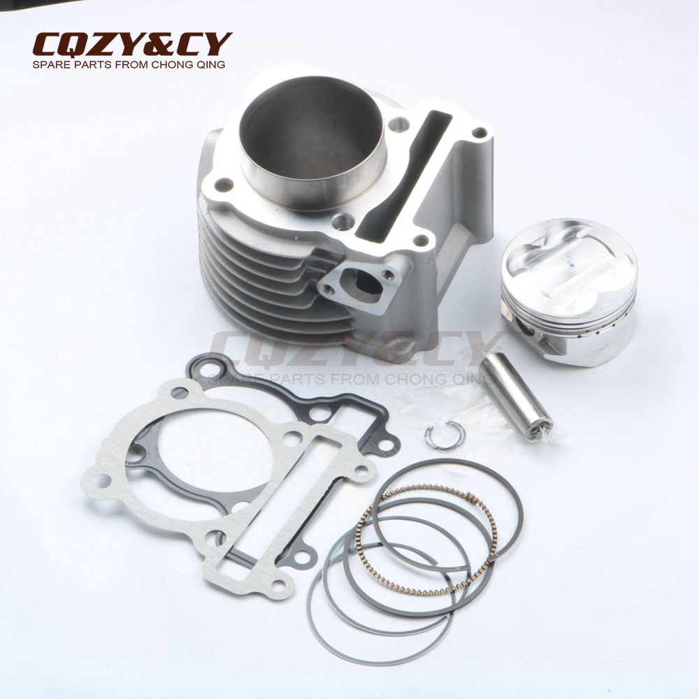 US $235 19 |63mm/15mm 181cc Racing Big Bore Cylinder & Head Kit for YAMAHA  BWS ZUMA 125 YW125 CYGNUS X 4V-in Engine Cooling & Accessories from