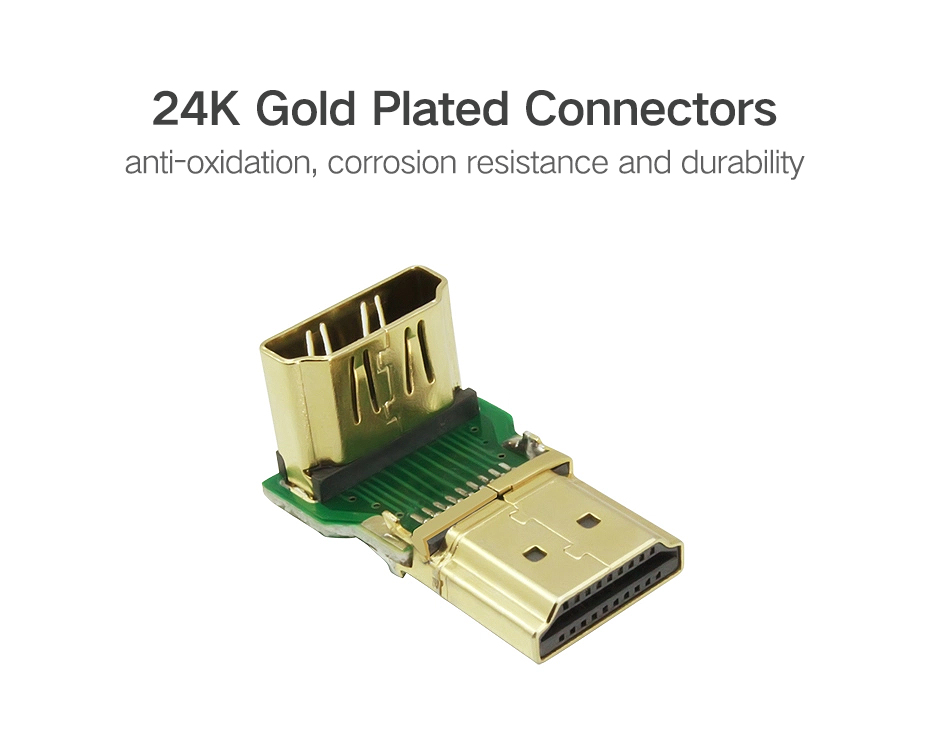 4K Male to Female HDMI Adapter