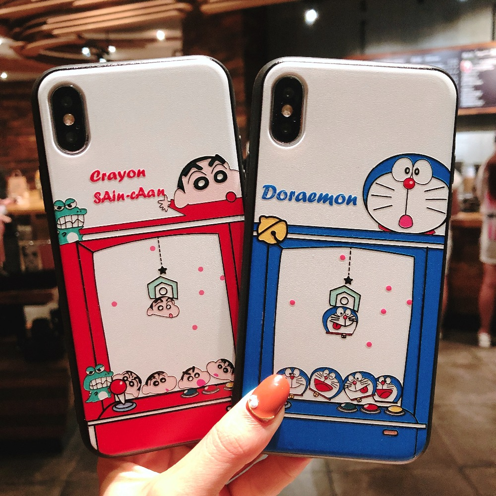 Hot Trend Doraemon And Crayon Shin Chan Graffiti Phone
