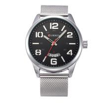 hot deal buy 2018  watches men top brand luxury cow quartz-watches sport men's watches waterproof relogio heren hodinky .the calendar window