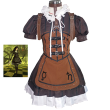 Alice Madness Returns Cosplay Alice Steam Dress Adult Womens Halloween Cosplay Costumes Fancy Dress Customize цена