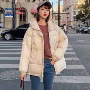 Image 4 - Pinkyisblack 2020 Mode Plus Size 2XL Down Jassen Vrouwen Winter Jas Korte Thicken Warm Katoen Gevoerde Winter Jas Vrouwen Jas