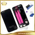 New! замена Полный Жилищно Задняя крышка Для iPhone 6 plus Батарейного Отсека Задняя Крышка Ассамблея с Flex Кабель + Инструменты Бесплатная Доставка