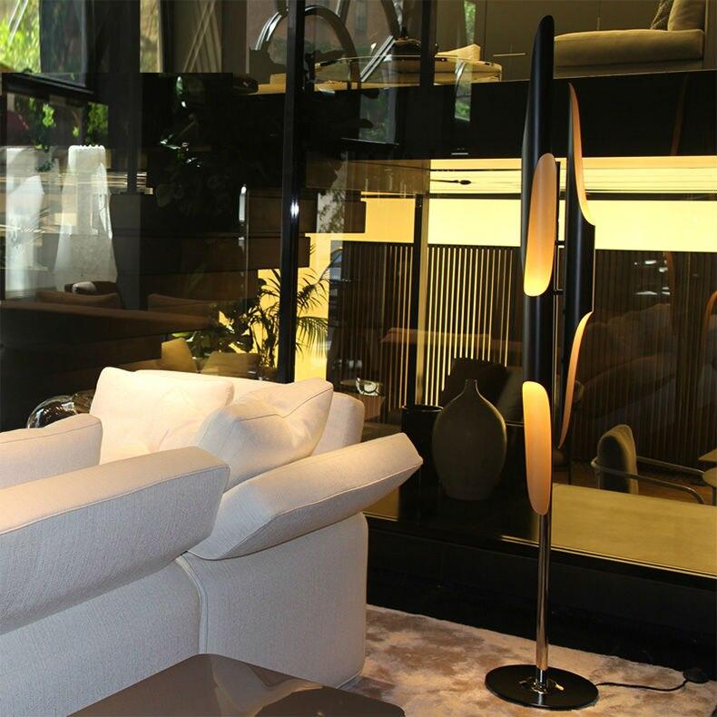 Nordic post modern coltrane jazz creative floor lamp art for Living room jazz