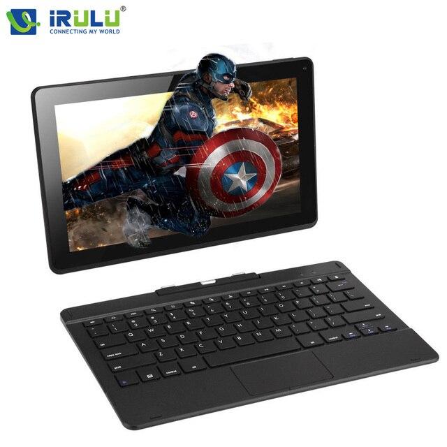 Original iRULU 11.6'' IPS 1366*768 Remix Tablet 1G RAM 32G ROM Dual Cam Quad Cord 6000mAh GPS BT HDMI 2 in 1 Laptop