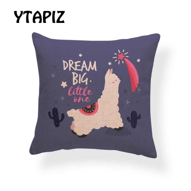 Sognare Cuscini.Di Modo Alpaca Sognare In Grande Piccolo Erba Liama In Amore