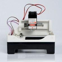 Портативный мини micro ПОДЕЛКИ лазерный гравировальный станок надписи ЛОГОТИП-лазерная маркировочная машина 300 ~ 2500 МВТ