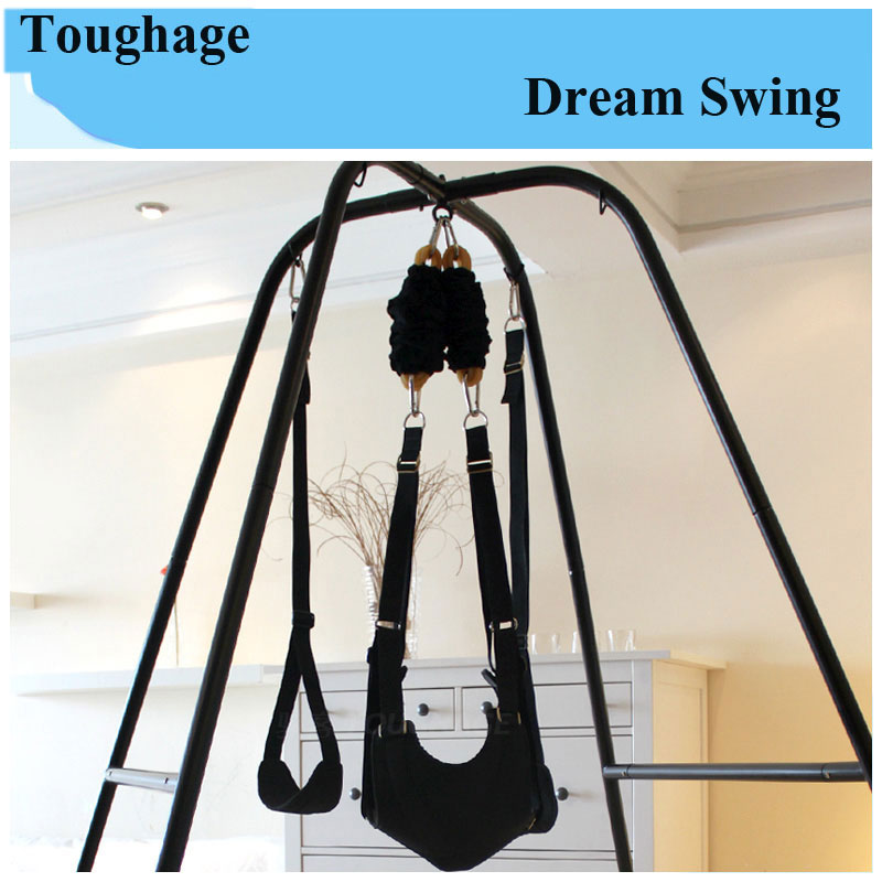 Toughage Adjustable Sex Swing Chair Indoor Swing Bondage Hammock Couples Flirt Essential Sex Position Furnitures for Couples toughage adult sex furnitures knight love sex chair safety handrail flexible strong sex toys couples sexual intercourse position