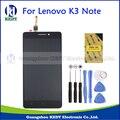 Nueva original de 5.5 pulgadas para lenovo k3 note k50-t5 lcd de pantalla con pantalla táctil digitalizador asamblea