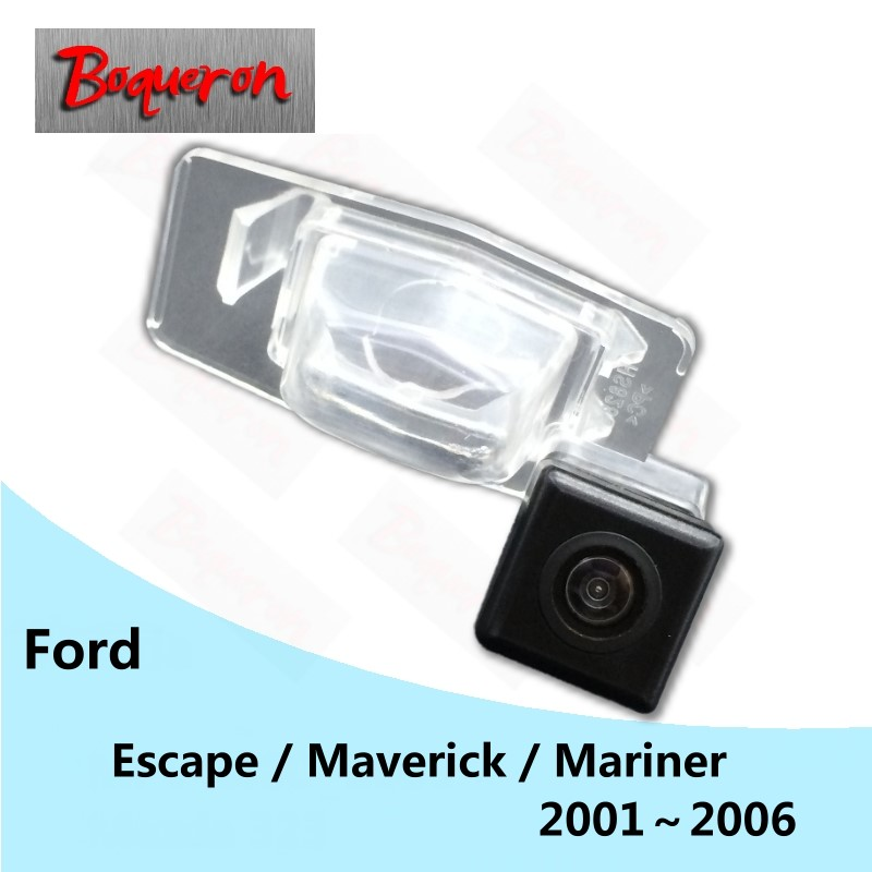 BOQUERON For Ford Escape Maverick Mariner 2001~2006 HD CCD Night Vision Reverse Parking Backup Camera Car Rear View Camera