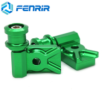 FENRIR Motorcycle Swing Arm Spool Swingarm Stand Screws For Kawasaki Z125 2015 2017 Ninja 250R 2008 2012 Ninja 300R 2013 2015