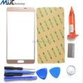 Для Samsung Galaxy Note 4 Передняя Внешний Стеклянный объектив Экран Замена Комплект Для Ремонта БЕЛЫЙ