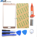 For Samsung Galaxy Note 4 Front Outer Glass lens Screen Replacement Repair Kit WHITE