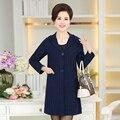 Primavera de malha camisola das mulheres cardigans casuais 2017 moda senhora cor sólida pescoço v plus size 4XL bolso feminino
