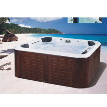 Hot Selling Massage Hot Tub Outdoor Spa Zwembad Met Tv(China)