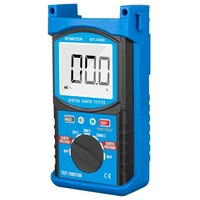 HP 4300 Resistance Tester LCD Digital Earth Ground Resistance Tester Megohm Meter Megger Megohmmeter DC0~200V Voltmeter