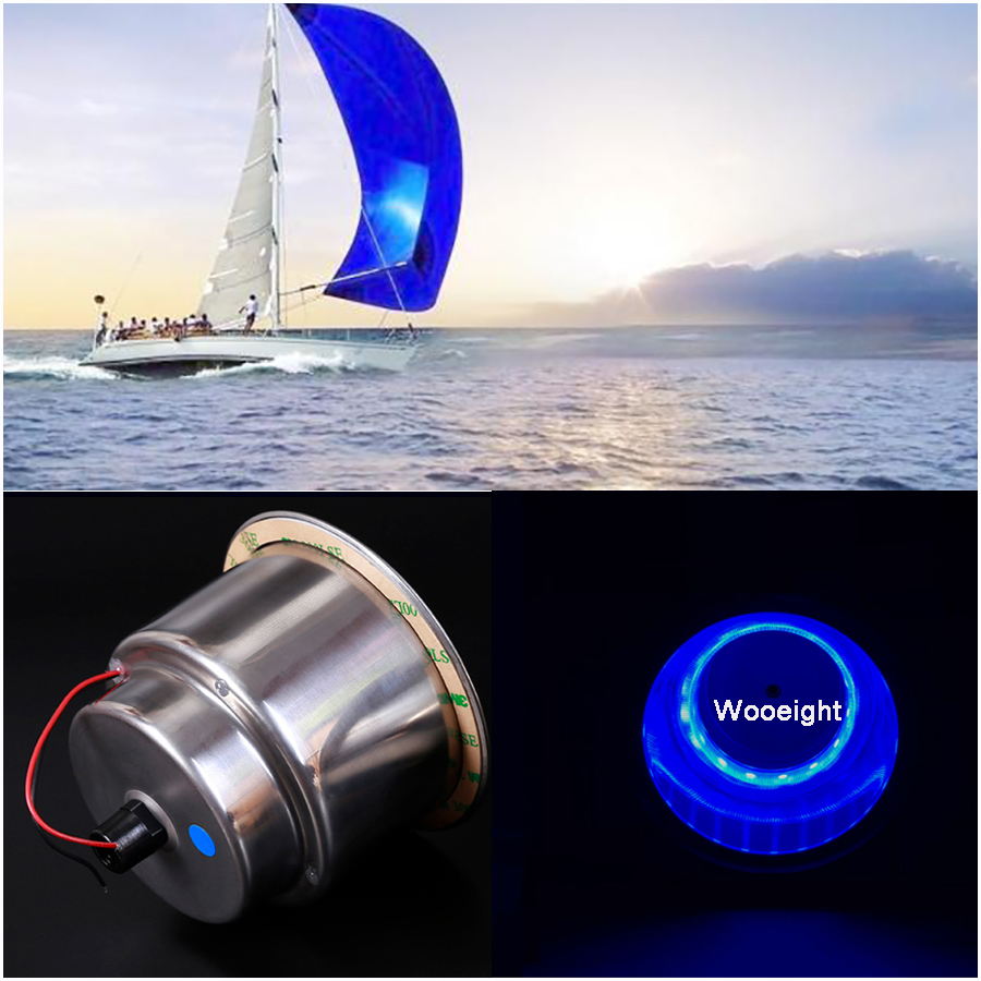 1pair Underwater Fishing Light Lamp Boat Light Night Water Landscape Cup 12v Led Lights For Marine Yacht Pontoon Car High Quality Atv,rv,boat & Other Vehicle