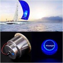 1 Pair su altı balıkçılığı ışığı Lamba Tekne Işık Gece Su Manzara Fincan 12 V LED Işıkları Için Deniz Yat Duba Araba