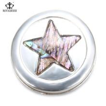 Gwiazda rzeźbione Rhinestone inkrustowane silny magnes klamra Retro muzułmanin magnes Pin sukienka damska broszka DIY magnetyczne igły