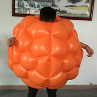 90cm Bumper Ball Bumperball Football Trainer Tool Body Zorb Ball Bubble Football Soccer Inflatable Loopy Ball