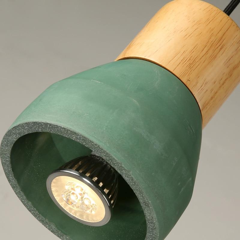 Amerikai vidéki stílusú cement függő lámpa 120 cm-es huzal E27 - Beltéri világítás