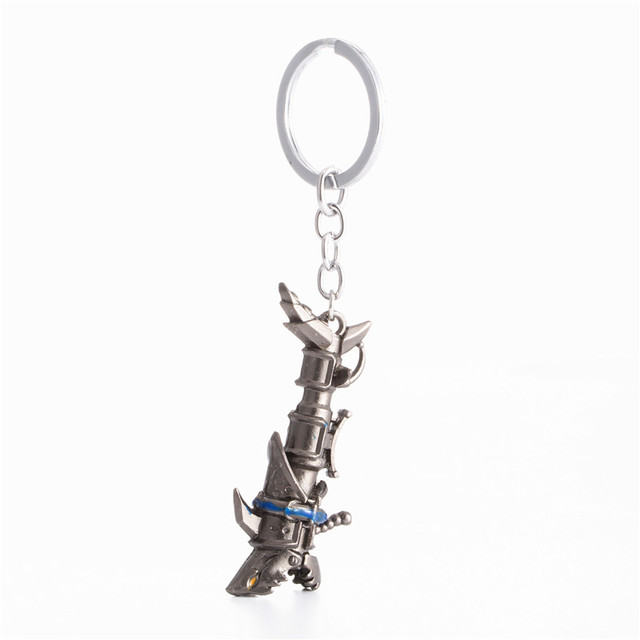 League of legendes LOL Jinx Darts Weapon keychain High quality Shells Jinx canno