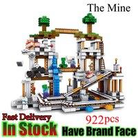 Minecraft 922 Stucke Der Mine My World Figur Kinder Legoed Education Building Blocks Bricks Spielzeug Fur