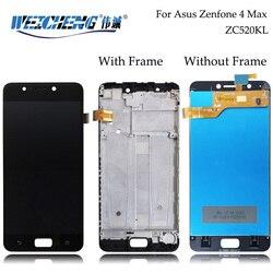 Para Asus Zenfone 4 Max ZC520KL Display LCD + Montagem da Tela de Toque Com Frame Para Asus ZC520KL LCD Digitizer + ferramentas gratuitas