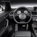 EAZYZKING Бесплатная доставка Авто-Стайлинг подставка для ног тормозные педали колодки крышка подходит для Audi Q3 2013-2017 автомобильные аксессуары