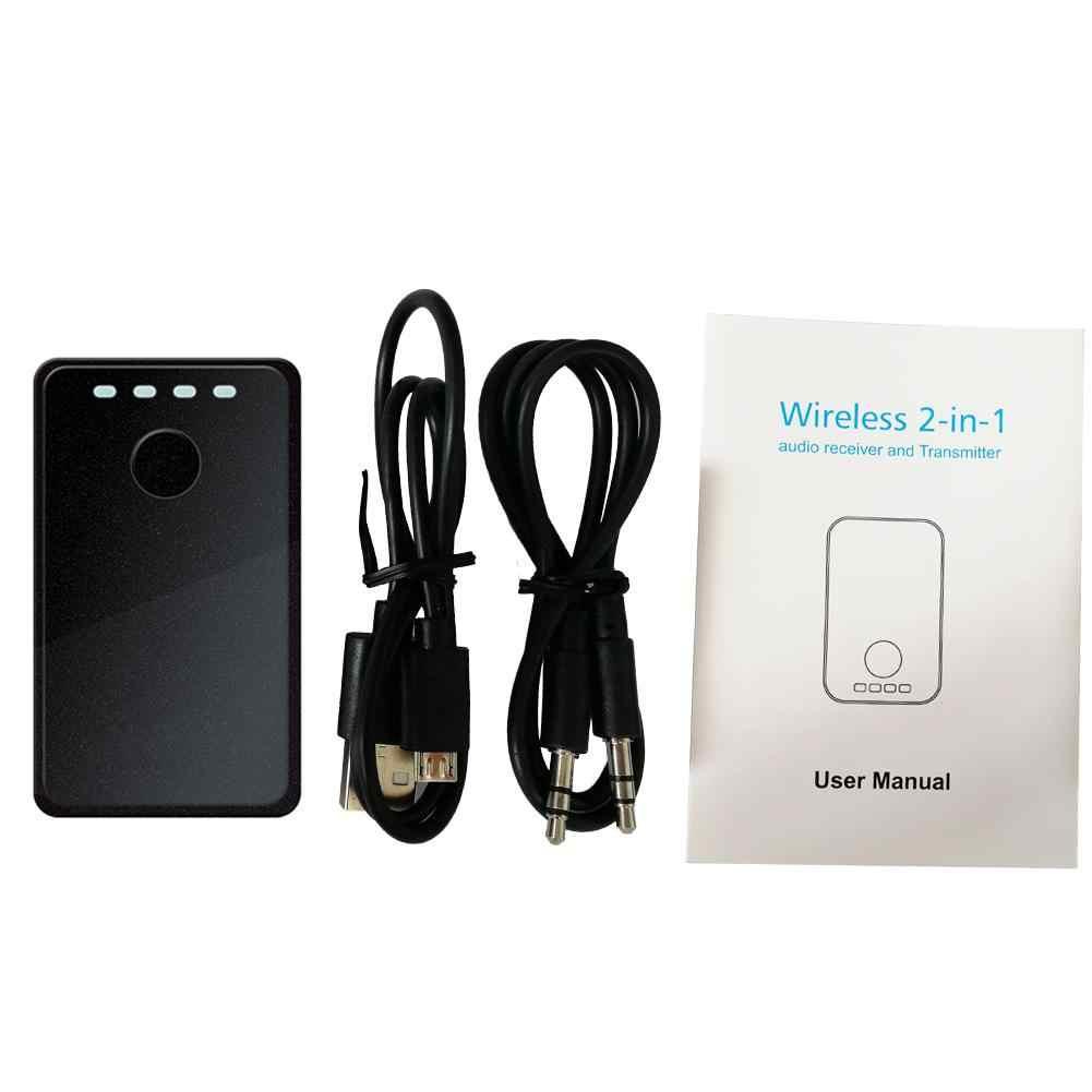 B8 przenośny Bluetooth 2 w 1 nadajnik i odbiornik Audio 3.5mm Jack Bluetooth Audio muzyka bezprzewodowy odbiornik Adapter do głośnika