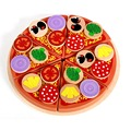 Colorful Lovely Baby DIY Wooden Educational Pretend toys Cute Fruit Pizza