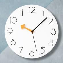 Wooden Large Watch Wall Clock Modern Design Silent Living Room Creative Vintage Quartz Clocks Saat Kitchen Clocks Klok Decor5590 цена
