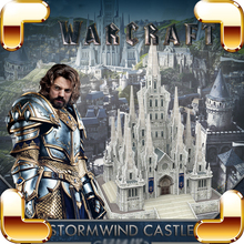 New Arrival Gift Storm Wind Castle 3D Puzzles Game Figure Building WAR Fans Souvenir Education Assemble