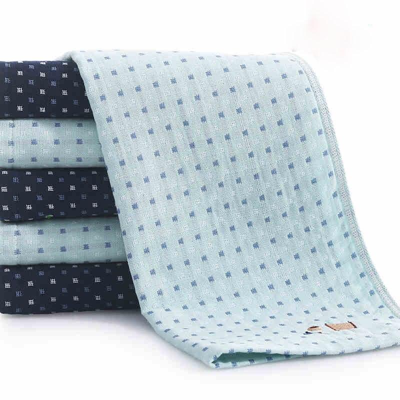 Double Face Technology Towel: 100%Cotton Scotoma Double Sided Gauze Face Towel For Bath