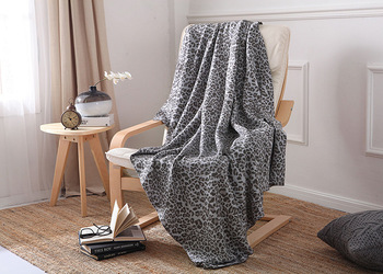 drop ship Sleep Leopard knit Blanket cotton plaid Blankets Travel Sofa  bed sheet Bedspreads Bedding  throw blanket Home Textile