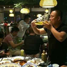 creative Super large champagne glass