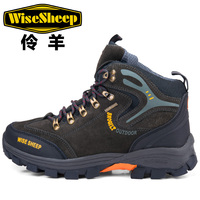 Thestron Outdoor Mens Boots Comfortable Warm Trekking Boots Men High Top Hiking Shoes For Men Good