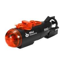 Rc лодка Rc электрическая игрушка водный светодиодный светильник Minitype корабль инновационный пластик 4 канала открытый высокоскоростной 2 режима