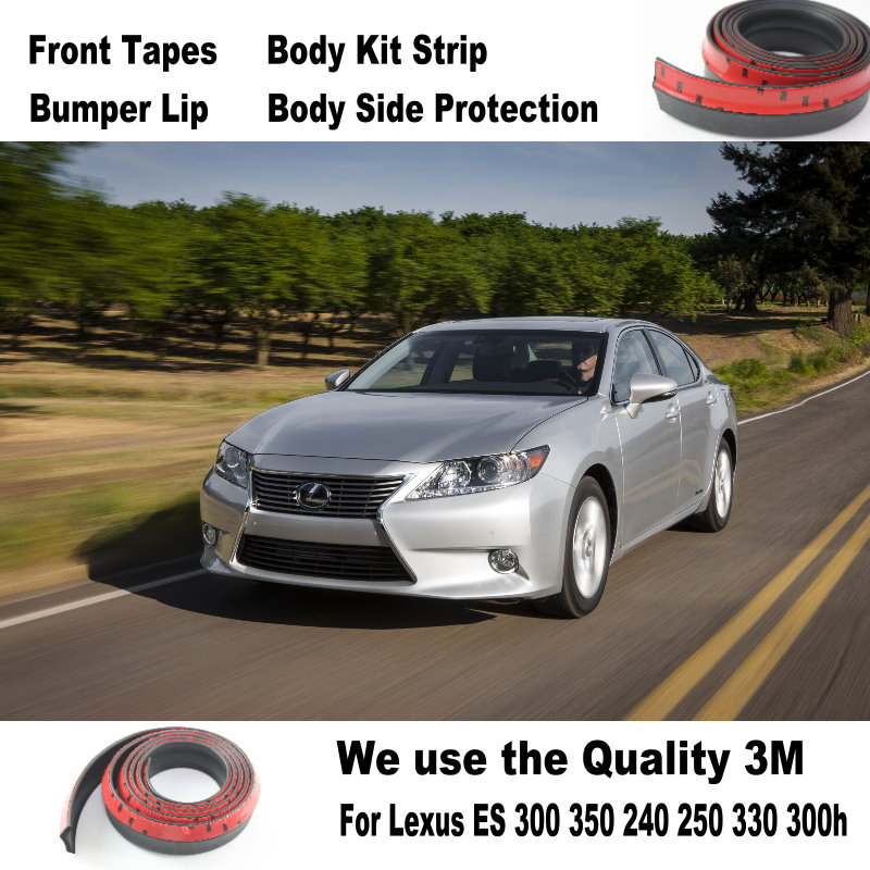For Lexus ES 300 350 240 250 330 300h For TOYOTA Windom Vista For Audi A3 / Body Kit Strip / Front Tapes / Body Chassis Side