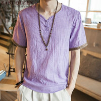 2018 Summer Breathable Chinese Men Shirt Oriental Mens Clothing Short Sleeve Chinese Male Clothing NN0544 CE