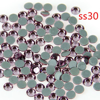 40Gross Lt Amethyst SS20 Hot Fix Crystal DMCStones Garment Strass For Clothing Jewelry Stones DIY Accessories