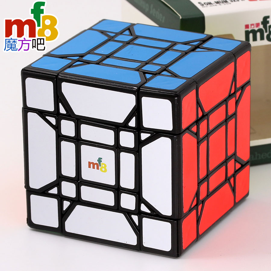 Magiczna kostka puzzle mf8 cube dziecko matka 3x3 syna mama V2 new arrival profesjonalne zabawki edukacyjne kostka do gry kolekcja zabawek musi w Magiczne kostki od Zabawki i hobby na  Grupa 1