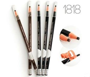Image 1 - 高品質 12 ピース/ロット 5 色本物のトップの持続フルレーザー化粧品眉毛鉛筆で送料無料
