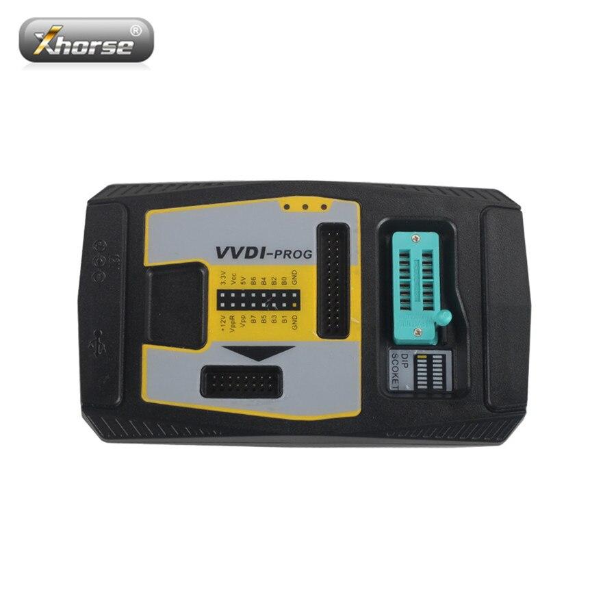 Xhorse VVDI PROG Programmatore V4.7.7 VVDI PROG USB ad alta velocità di Interfaccia di Comunicazione Intelligente Modalità di Funzionamento VVDI PROG